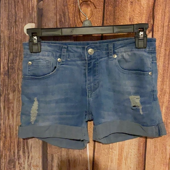 7 For All Mankind Other - 7 for all mankind kids distressed shorts size 10